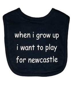 When I Grow Up I Want To Play For Newcastle, Bib (Babywear)