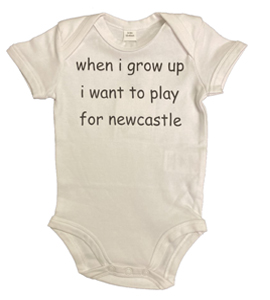 When I Grow Up I Want To Play For Newcastle, Vest (Babywear)
