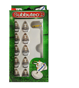 White Subbuteo Team