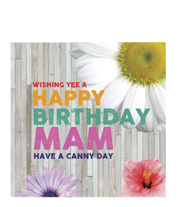 Wishing Yee A Happy Birthay Mam. (Greetings Cards)