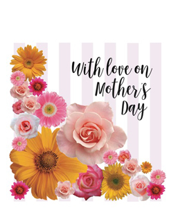 With Love On Mother's Day (Greetings Card)