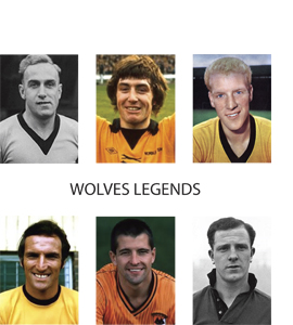 Wolves Legends (Greetings Card)