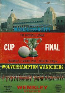 Wolves v Man City 1974 League Cup Final (Programme)