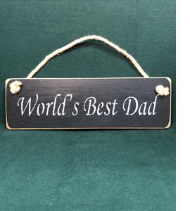 World's Best Dad (Sign)