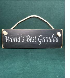 World's Best Grandad (Sign)