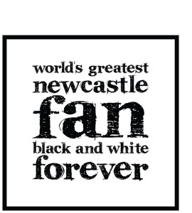 World's Greatest Newcastle Fan (Greeting Card)