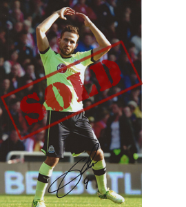 Yohan Cabaye Newcastle Photo (Signed)