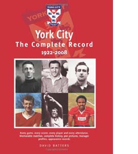 York City The Complete Record 1922 - 2008