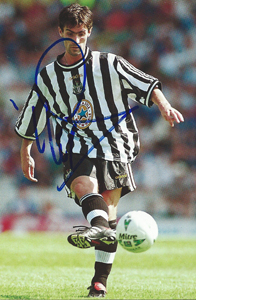 Keith Gillespie Newcastle Photo (Signed)