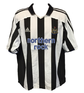 Newcastle United 2003-05 Home Shirt