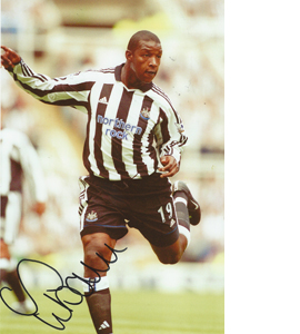 Titus Bramble Newcastle Photo (Signed)